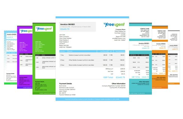 FreeAgent Invoice Templates
