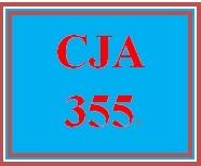 CJA 355 Week 4 Budget Construction Justification Paper