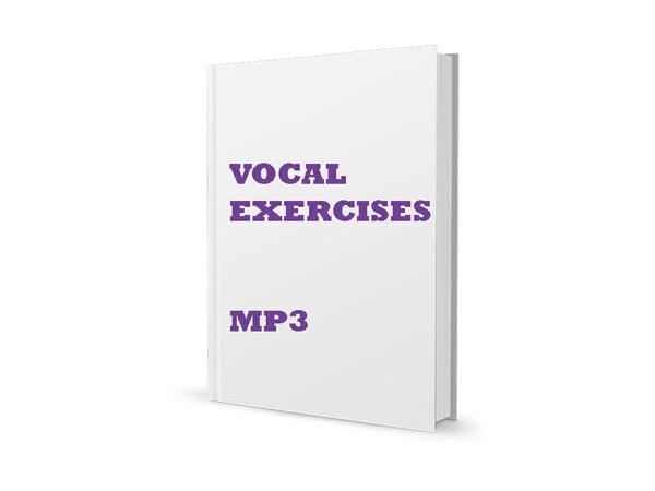 50 Vocal Exercises MP3 Bundle - vol 2