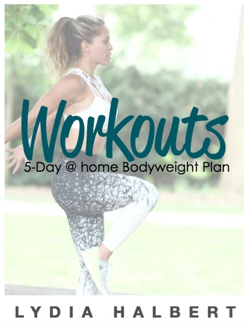 5-Day At-home Bodyweight Plan