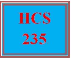HCS 235 Week 2 Health Care Services Worksheet