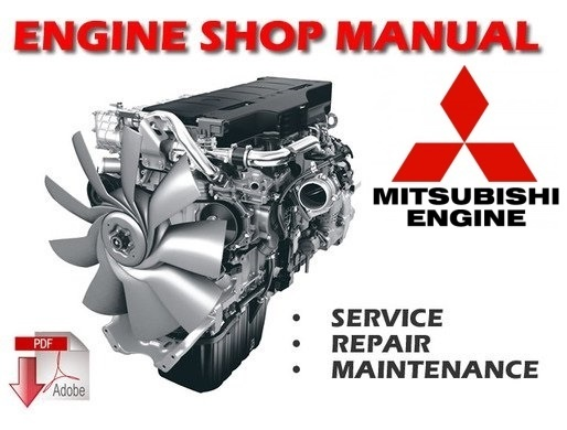Mitsubishi 4D68 Engine Workshop Service Repair Manual