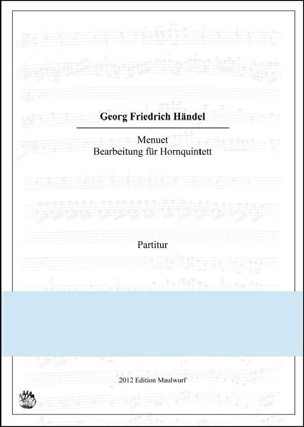 Händel Menuett (Hornquintett)