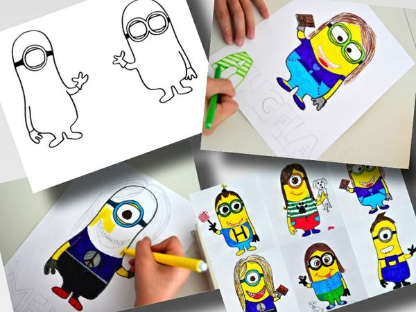 MINIONS AVATAR : 2 printable worksheet