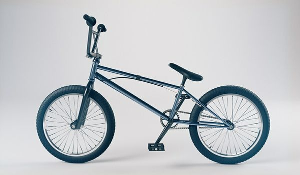 BMX and Fixie Models(C4D)