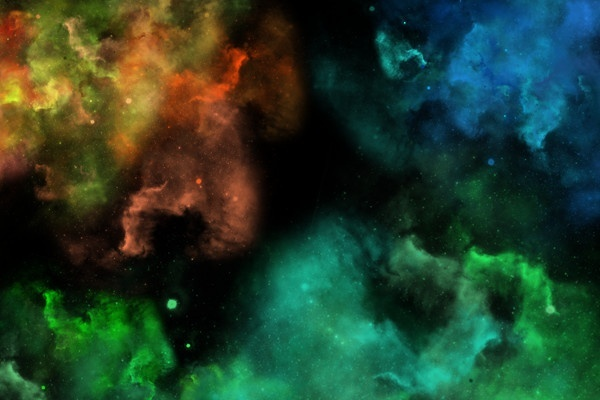 Space Cloud PNG Pack 1