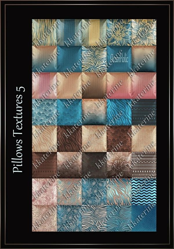 Pillows Textures 5 ~ 40 Textures