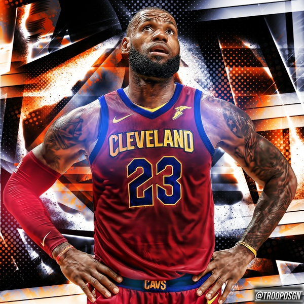 Lebron James PSD