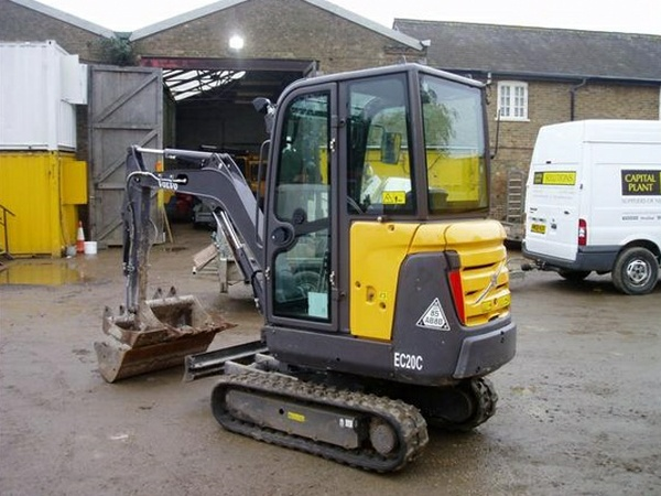 VOLVO EC20C COMPACT EXCAVATOR SERVICE REPAIR MANUAL - DOWNLOAD
