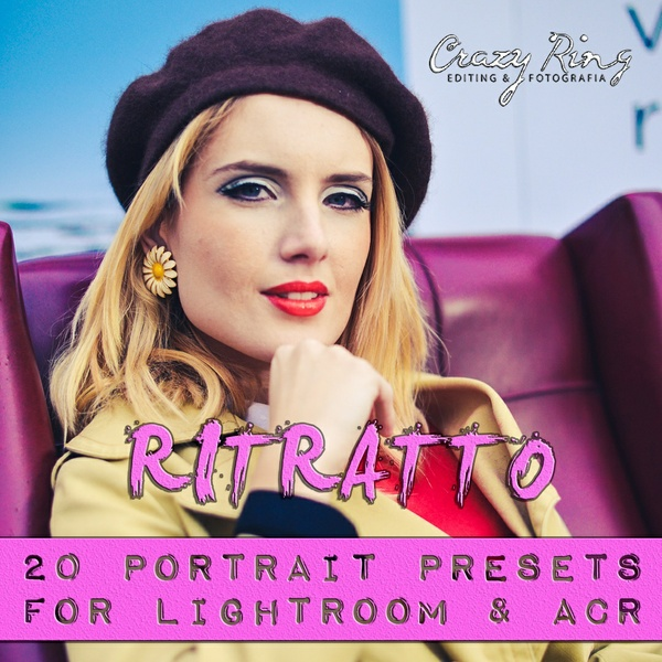 RITRATTO COLLECTION The Crazy Ring Preset - For Lightroom and Camera Raw
