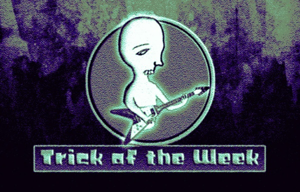 Trick of the Week VIII - Sweep picking 7th arpeggios