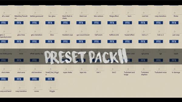 Preset pack 2