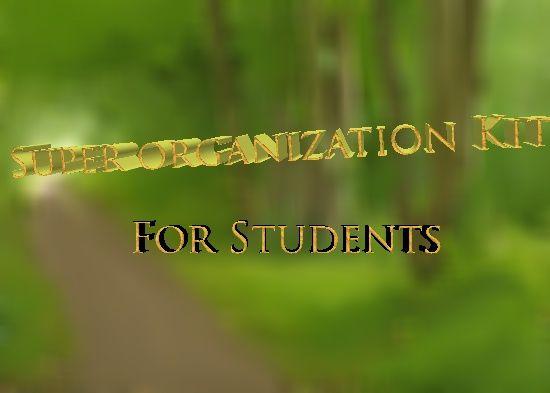 School Organization Kit