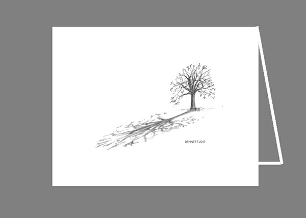 Tree in Winter (notecard production file_