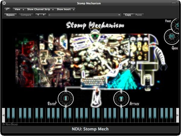 Nova Drum Unit: Stomp Mechanism - AU, VST,