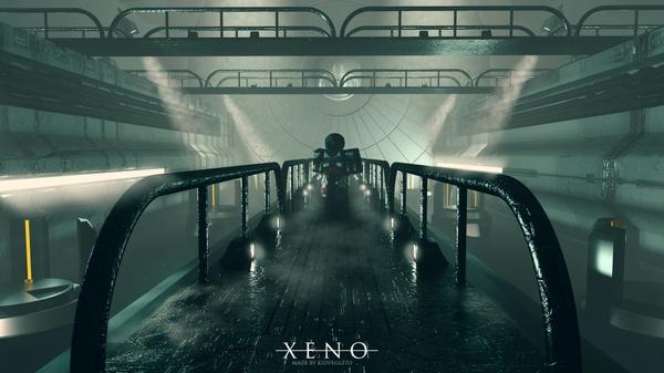 XENO Scene file (Cinema 4d)