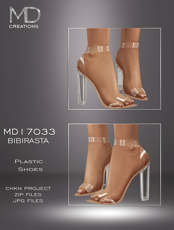 MD17033 - Plastic Shoes
