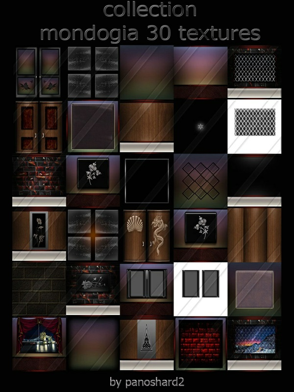 Collection mondogia 30 textures room new pack