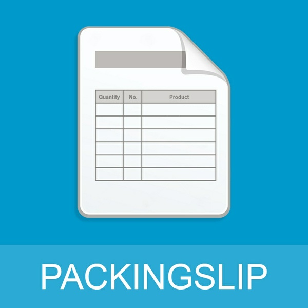 Packslip Magento Extension
