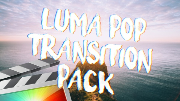 Luma Pop Transition Pack - Final Cut Pro X