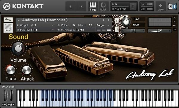 Auditory Lab ( Harmonica ) v.2