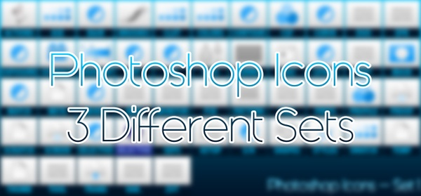 Adobe Photoshop Icons (.ICO & .PNG)