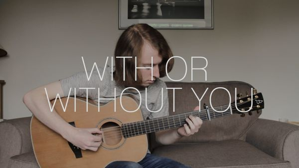 With Or Without You Guitar Tab