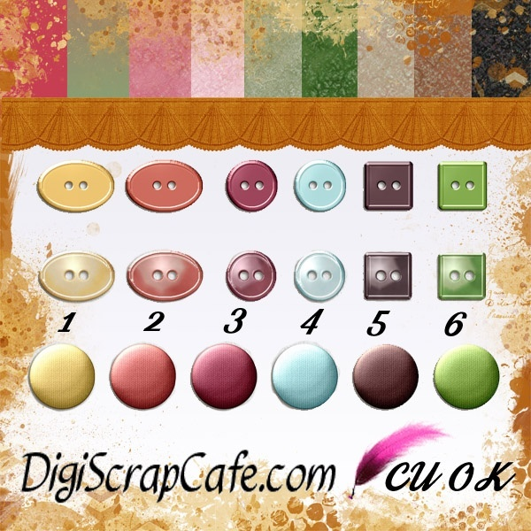 Button Kit  Bundle with Backgrounds and Gradient Effects