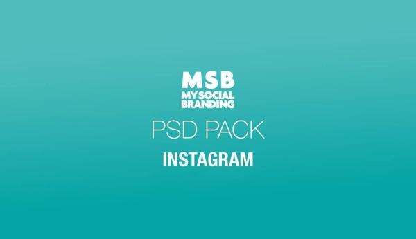 Pack PSD Instagram