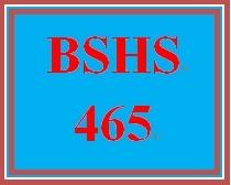 BSHS 465 Week 4 Self-Care Strategies Paper