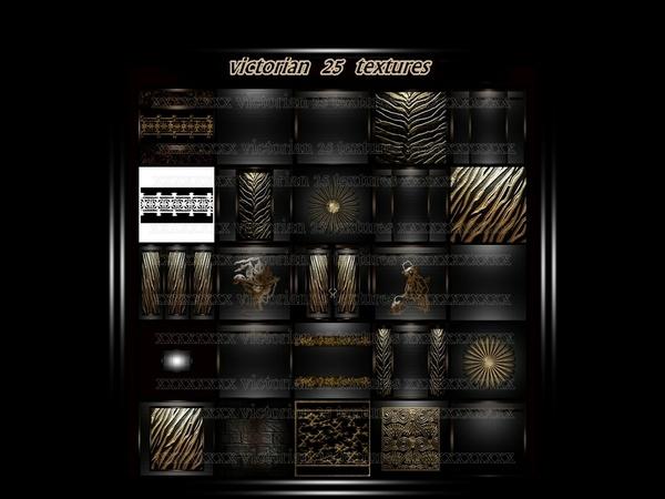 Victorian 25 textures