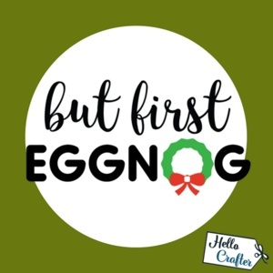 But First Eggnog Commercial License
