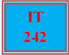 IT 242 Week 4 Toolwire ® Lab