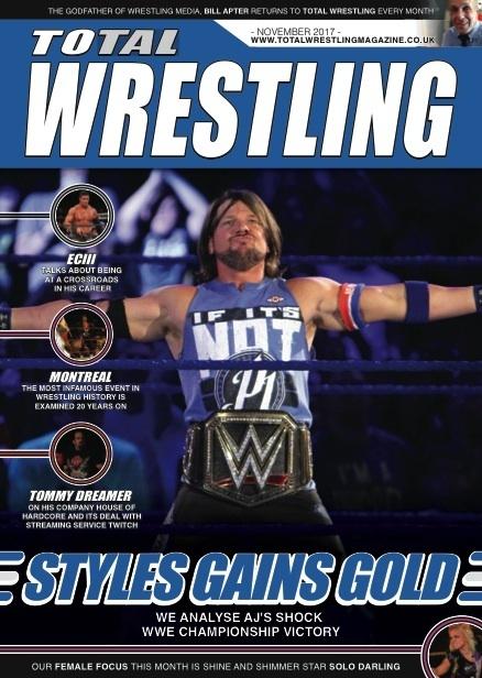 Total Wrestling Magazine November 2017