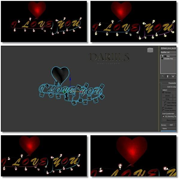 [D]Mesh_Decor love Valent lig_F008