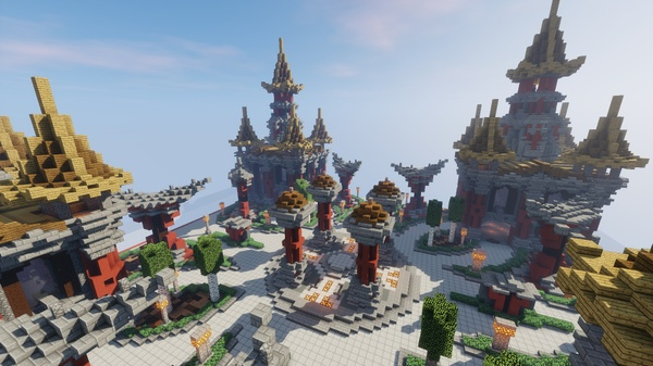 Factions Spawn - Pagoda