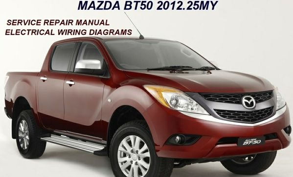 MAZDA BT50 2012 REPAIR SERVICE MANUAL