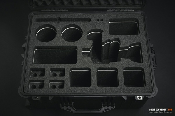 BLUEPRINT CUSTOM FOAM INSERT FOR CANON C200 + ACCESSORIES