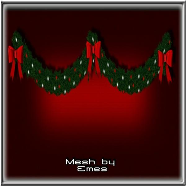 Mesh-Christmas Garland V2