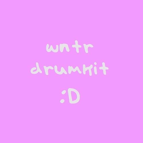 wntr drumkit/sample pack