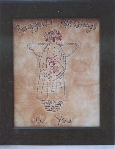 #365 Annie Angel Stitchery