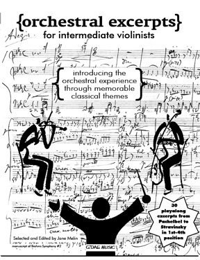 Orchestral Excerpts for Intermediate Violinists