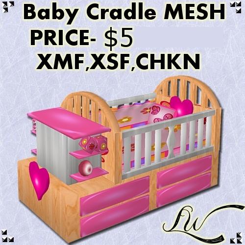 Baby Cradle MESH
