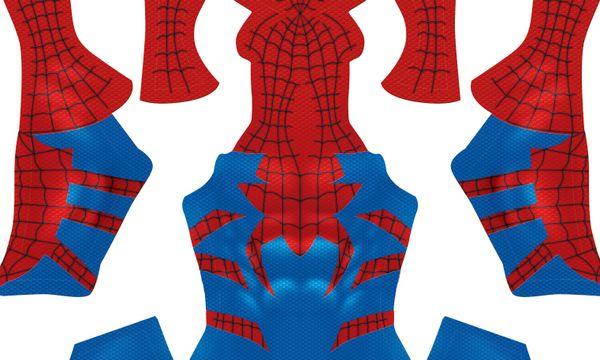 (Bright Version) Spider-Man HOUSE OF M  pattern