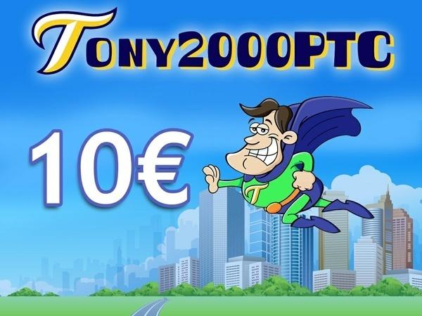 10 € di credito per Tony2000ptc + ebook