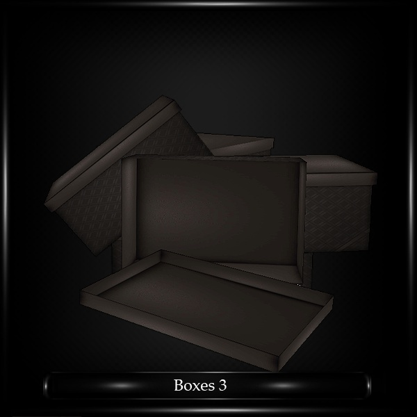 EMPTY BOXES 3