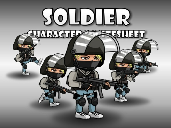 Soldier 48 SWAT Girl