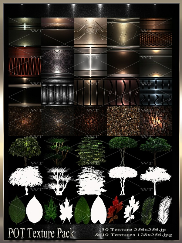 ~ POT IMVU TEXTURE PACK ~