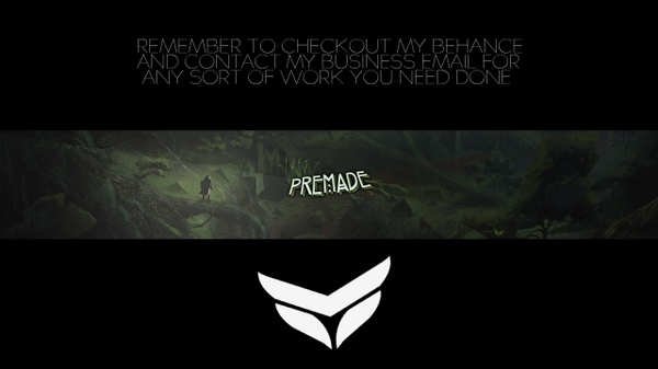 """NATURE"" Premade 2D Banner"