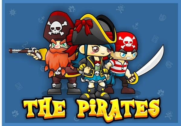 The Pirates - Game Sprite